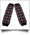 Quatrefoil Print Baby Leg Warmers - MULTI-COLOR - CLOSEOUT