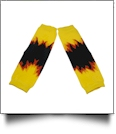 Flame Print Baby Leg Warmers - MULTI-COLOR - CLOSEOUT