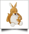 Embroidery Buddy Stuffed Animal - Kerry Kangaroo + Joey 16""