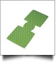 Unsewn Premium Designer 12oz. Neoprene Can Koozie Embroidery Blanks - QUATREFOIL - SUMMER CLOSEOUT