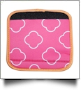 The Coral Palms� Luggage & Sewing Tote Handle Wrap - CLOVER