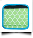 The Coral Palms� Luggage & Sewing Tote Handle Wrap - QUATREFOIL