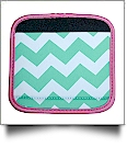 The Coral Palms� Luggage & Sewing Tote Handle Wrap - CHEVRON