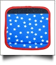 The Coral Palms� Luggage & Sewing Tote Handle Wrap - STARS