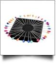 Zirkel Magnetic Pin Holder - BLACK
