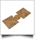 Unsewn 12oz Can Koozie Embroidery Blanks - PAPER BAG