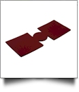 Unsewn 12oz Can Koozie Embroidery Blanks - CRIMSON