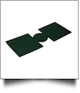 Unsewn 12oz Can Koozie Embroidery Blanks - FOREST GREEN