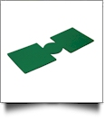 Unsewn 12oz Can Koozie Embroidery Blanks - KELLY GREEN