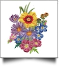 Flowery Crewel Embroidery Designs by Amazing Designs on a Multi-Format CD-ROM ADL-35