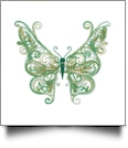 Fanciful Butterflies Embroidery Designs by Amazing Designs on a Multi-Format CD-ROM ADL-36