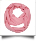 Soft & Cozy Infinity Scarf Embroidery Blanks - BUBBLE GUM PINK
