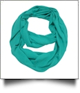Soft & Cozy Infinity Scarf Embroidery Blanks - TEAL