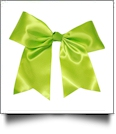 Oversized Cheer Bow - SPRING GREEN - CLOSEOUT