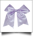 Oversized Cheer Bow - LAVENDER - CLOSEOUT
