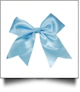 Oversized Cheer Bow - SKY BLUE - CLOSEOUT
