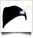 LED Stocking Cap Embroidery Blanks - BLACK