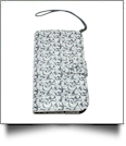 Ladies' Designer Sewing & Craft 8 Piece Tool & Scissor Clutch With Wristlet - IRREGULAR