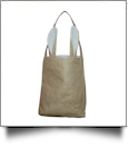 Burlap Bunny Ear Easter Tote - WHITE - CLOSEOUT