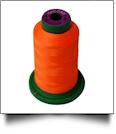 1106 Orange Isacord Embroidery Thread - 1000 Meter Spool