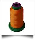 1200 Sunset Orange Isacord Embroidery Thread - 1000 Meter Spool