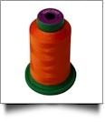 1310 Hunter Orange Isacord Embroidery Thread - 1000 Meter Spool
