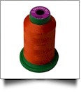 1321 Dark Orange Isacord Embroidery Thread - 1000 Meter Spool