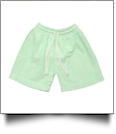 The Coral Palms® Blank Boys Seersucker Swimming Trunks - LIME