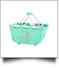 Mini Foldable Market Tote Embroidery Blanks - MINT