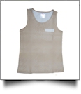 Seersucker Pocket Tank Top Embroidery Blanks - COCOA BEACH - CLOSEOUT