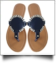 EasyStitch Medallion Sandals  - NAVY - CLOSEOUT