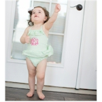 Girls Blank Baby & Toddler Swimsuits