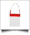 Sea Shell & Pool Toy Mesh Tote - RED