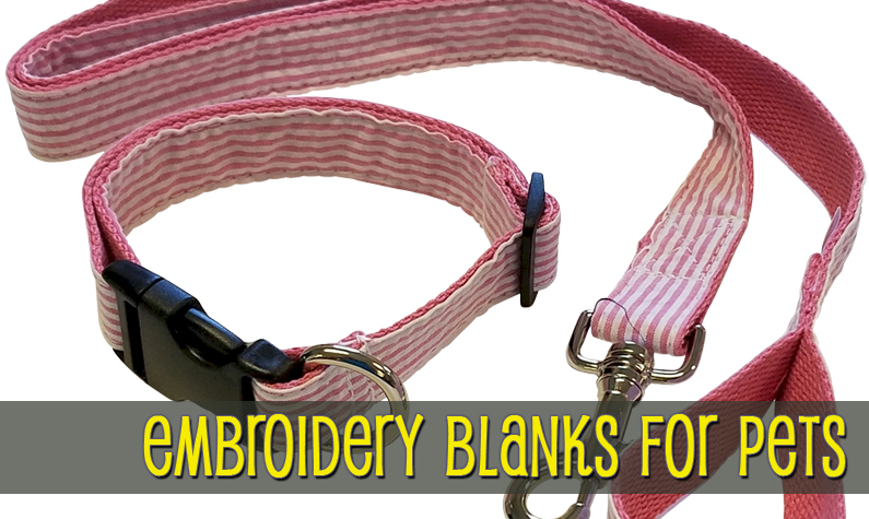 Embroidery Blanks for Pets