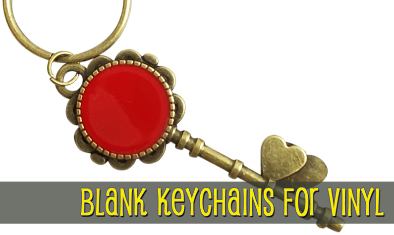 Blank Key Chains