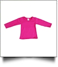 Classic Long Sleeve Shirt - HOT PINK - CLOSEOUT
