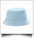 The Coral Palms� Gingham Toddler Bucket Hat - AQUA