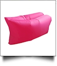 Insta-Inflate Portable Air Couch - HOT PINK - CLOSEOUT