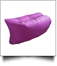 Insta-Inflate Portable Air Couch - PURPLE - CLOSEOUT