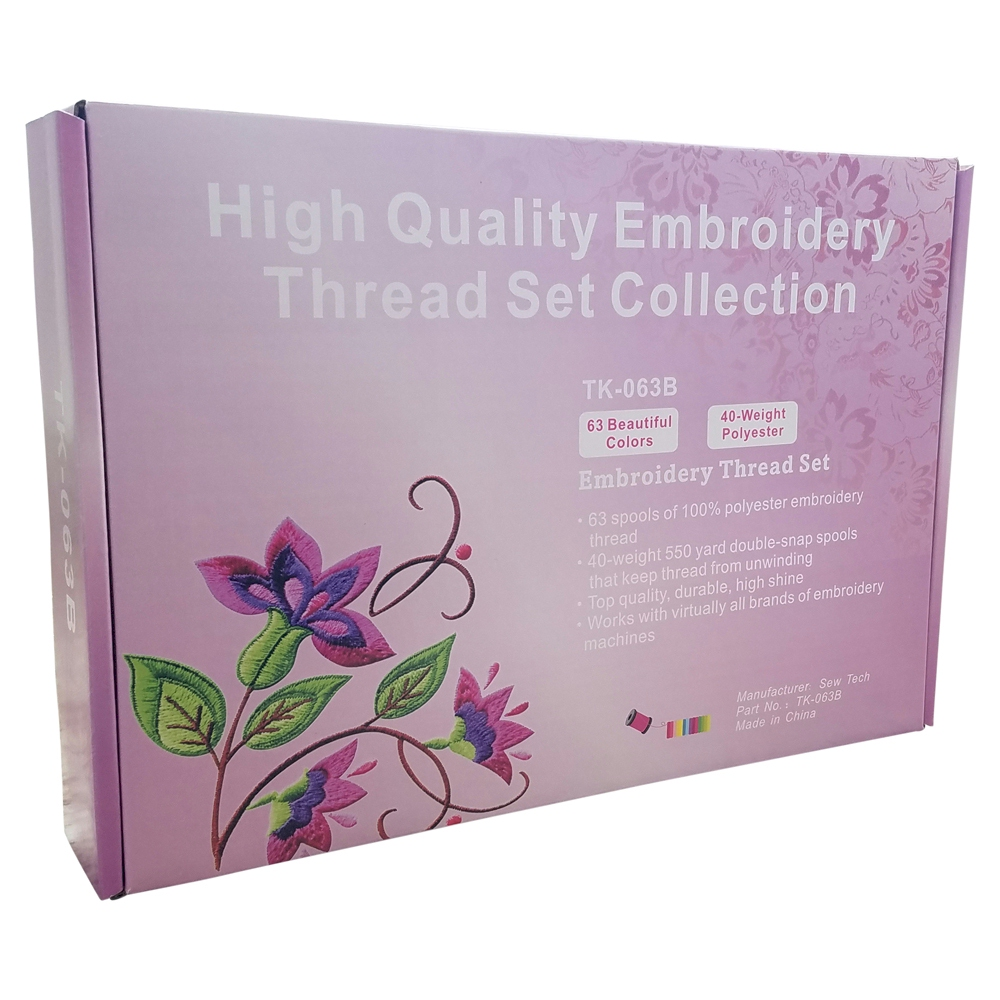machine embroidery thread kits