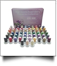 63 Color Polyester 40wt Embroidery Thread Kit - CLOSEOUT