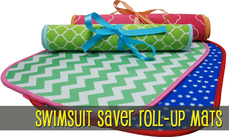Swimsuit Saver Roll-Up Neoprene Mats