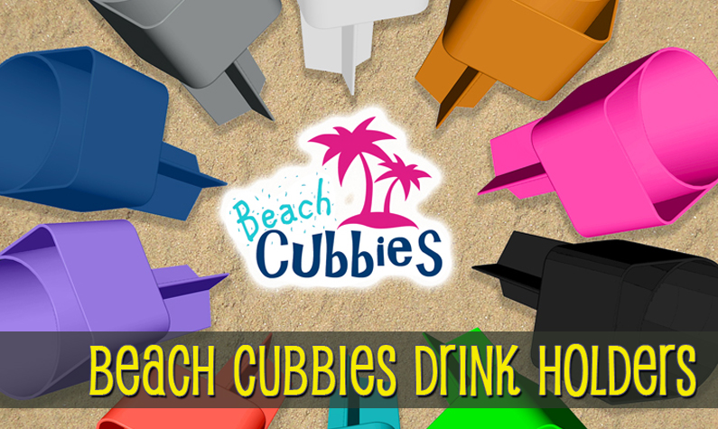 Beach Cubbies Drink Holders