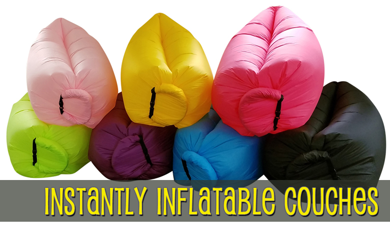 Insta-Inflate Portable Air Couch