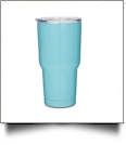 30oz Double Wall Stainless Steel Super Tumbler - CARIBBEAN GREEN - IRREGULAR