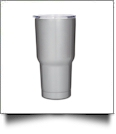 30oz Double Wall Stainless Steel Super Tumbler - GRAY