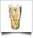 Camo Print 30oz Double Wall Stainless Steel Super Tumbler - DAWN