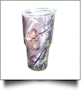 Camo Print 30oz Double Wall Stainless Steel Super Tumbler - DUSK