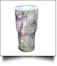 Camo Print 30oz Double Wall Stainless Steel Super Tumbler - FOG