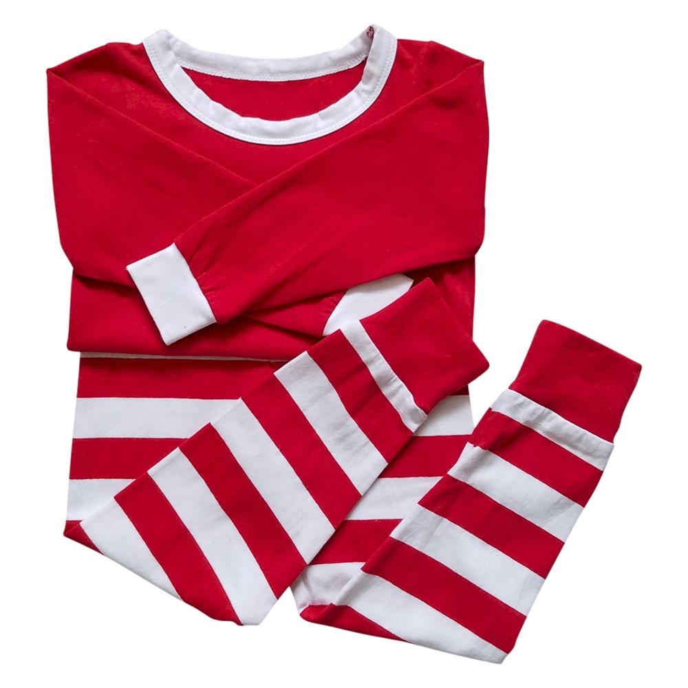 christmas pajamas striped